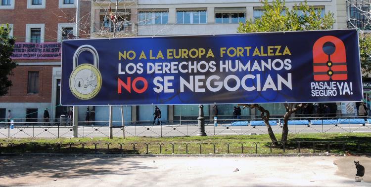 25F - NO A LA EUROPA FORTALEZA [FOTOS]