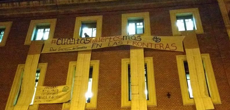 #CUANTAS MUERTES MÁS EN LAS FRONTERAS18D [ACCIÓN CS LA INGOBERNABLE]
