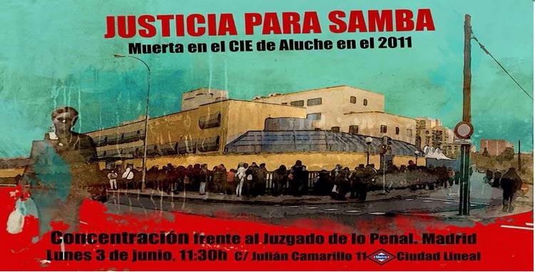 3J - JUSTICIA PARA SAMBA MARTINE [Juzgado de lo Penal, 11:30h]